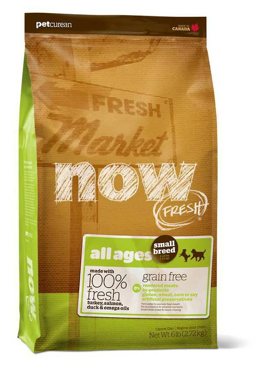 Now Grain Free Small Breed Adult Dog Recipe 2.72kg