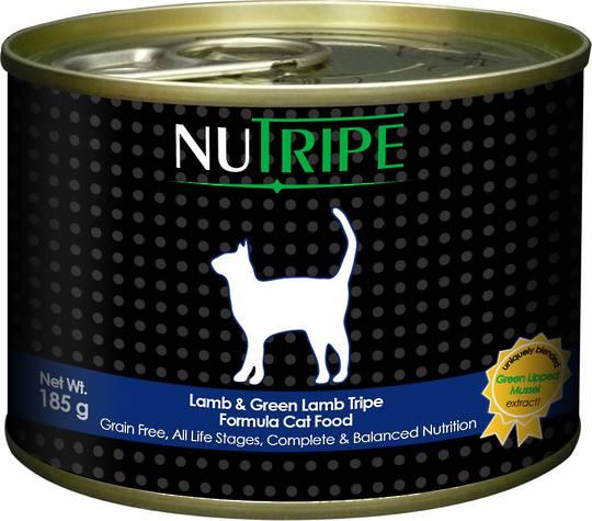 Nutripe Classic Lamb & Green Lamb Tripe Formula Cat Food