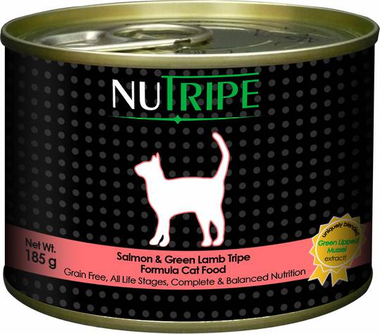 Nutripe Classic Salmon & Green Lamb Tripe Formula Cat Food