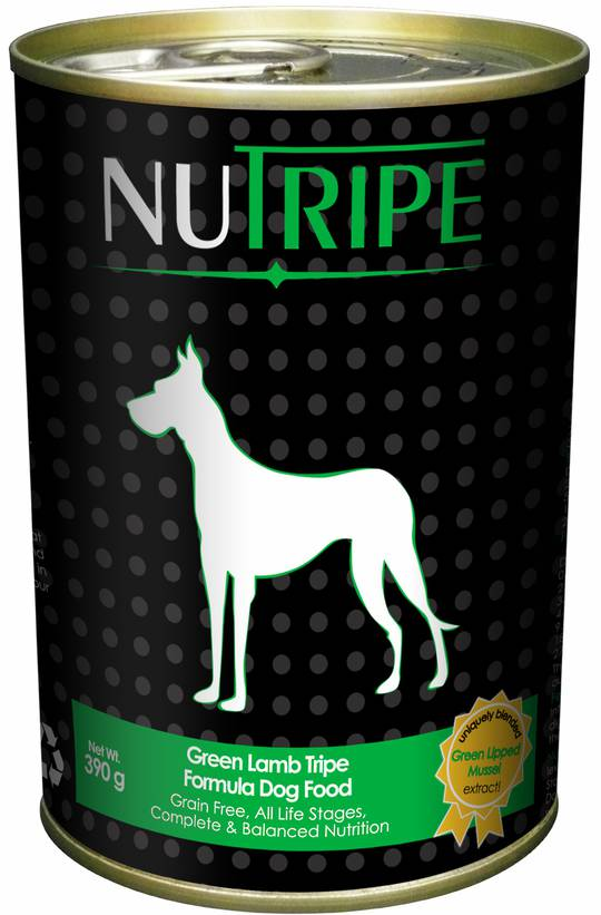 Nutripe Classic Green Lamb Tripe Formula Dog Food