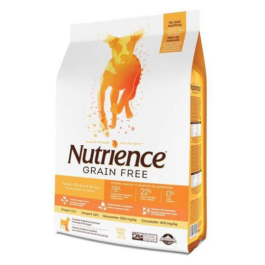 Nutrience Grain Free Turkey, Chicken & Herring - Dog 2.5kg