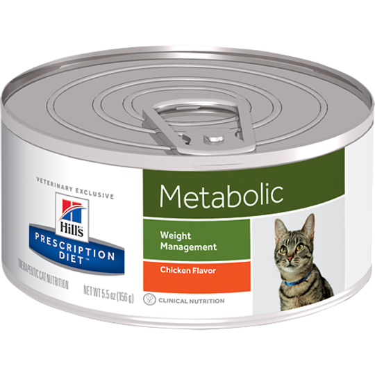 Hill's Prescription Diet Feline Metabolic Cans for Cats 156g