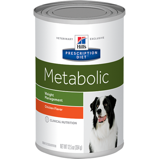 Hill's Prescription Diet Canine Metabolic Cans for Dogs 354g
