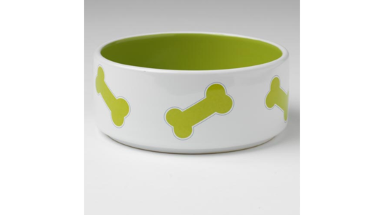 Kool Bones Bowl - Lime/White 15cm