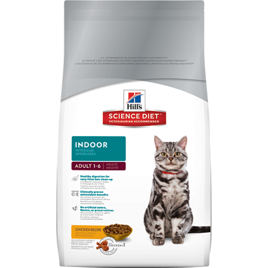 Hill's Science Diet Adult Indoor Cat 2Kg