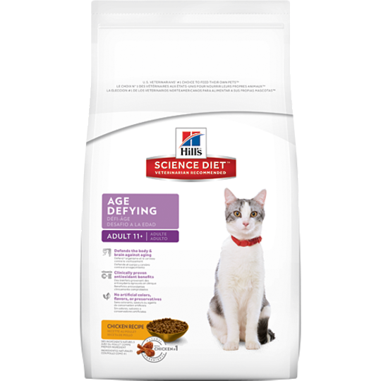 Hill's Science Diet Age Defying for Adult 11+ Cat 1.58Kg