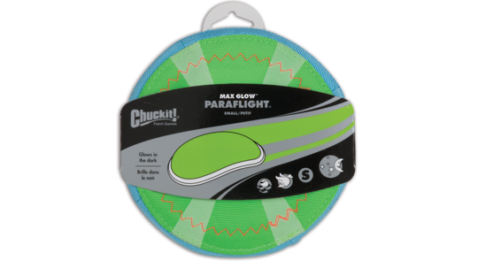 CHUCKIT! Paraflight Max Glow Small