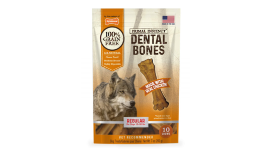 Primal Instinct Dental Bones Reg - 10pk
