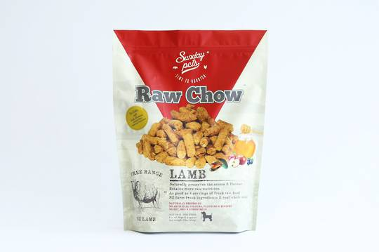SundatRaw Chow Lamb 454g for Dogs and Puppies