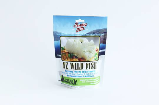 Sunday Freeze Dried Treats 50g NZ Wild Fish