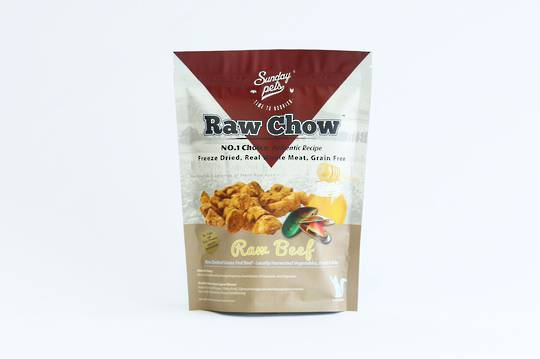 Sunday Raw Chow Beef 250g for Cats and Kittens