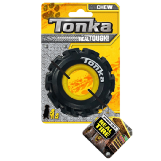 Tonka Seismic Tread Black with Yellow Insert 8.9cm