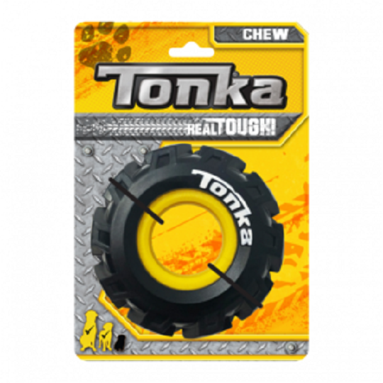 Tonka Seismic Tread Black with Yellow Insert 12.7cm