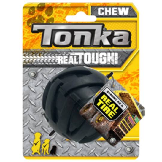 Tonka Mega Tread Ball Black 7.6cm