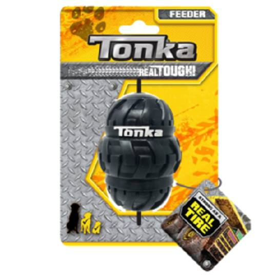 Tonka Tri Stack Tread Feeder Black 8.9cm