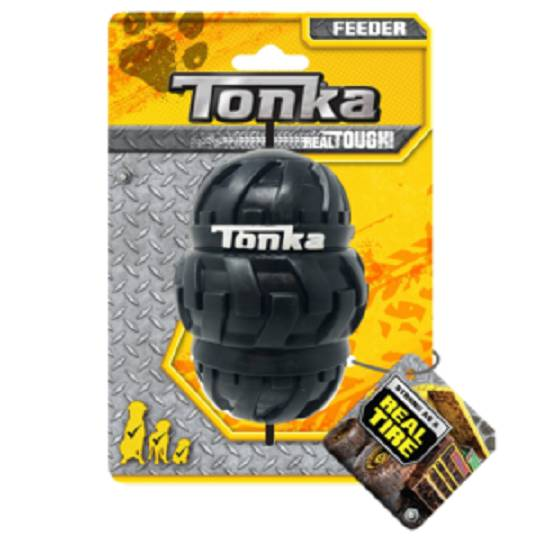 Tonka Tri Stack Tread Feeder Black 10.2cm