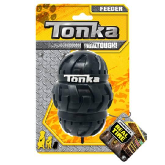 Tonka Tri Stack Tread Feeder Black 12.7cm