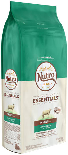 Nutro Wholesome Essential Adult Dog - Lamb & Brown Rice Recipe -2.27kg