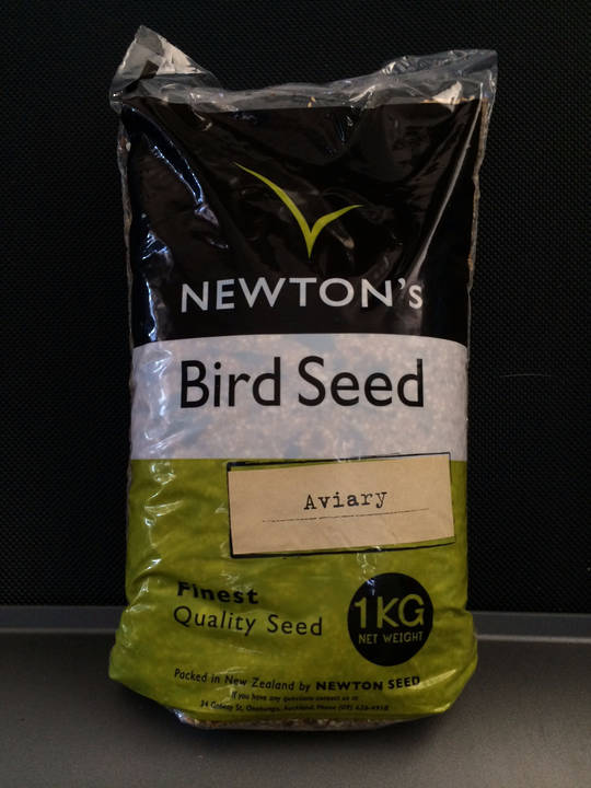 Newton Seed Aviary Mix No Preservatives 1kg