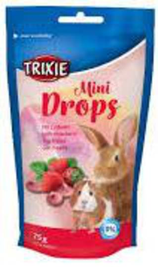 Trixie Mini Drops Strawberry 75g