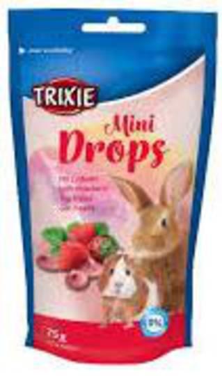 Trixie Mini Drops Strawberry 75g