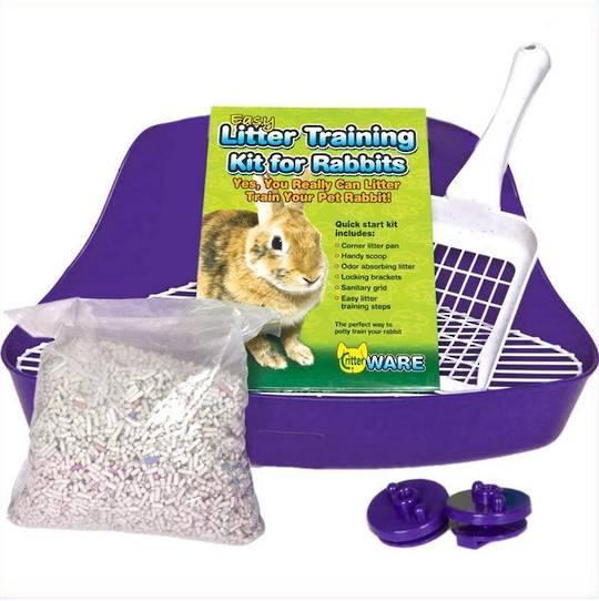 Easy Litter Training Kit for Rabbits