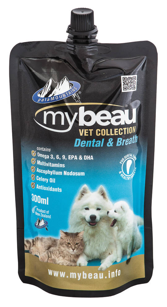 Mybeau Dental Care and Healthier Breath in Cats & Dogs 300ml
