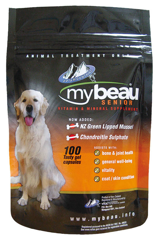 Mybeau Senior For Older Dogs 100 Gel Capsules