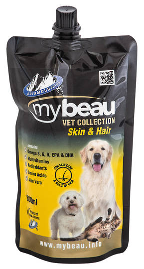 Mybeau Skin Care and a Healthy Coat in Cats & Dogs 300ml Pouch