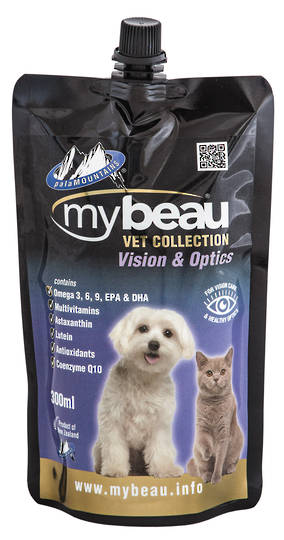 Mybeau Vision Care and Healthier Optics in Cats & Dogs 300ml Pouch