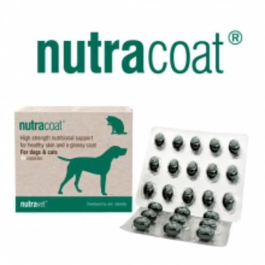 Nutracoat  for Cats & Dogs Healthy Skin & Coat- 45 capsules