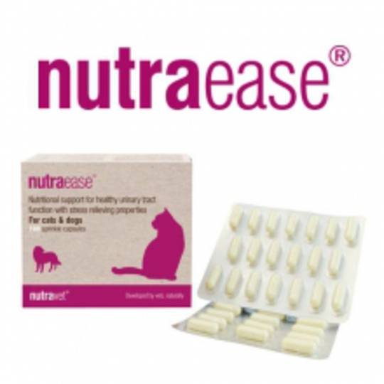 Nutraease for Cats & Dogs Urinary Health - 100 capsules