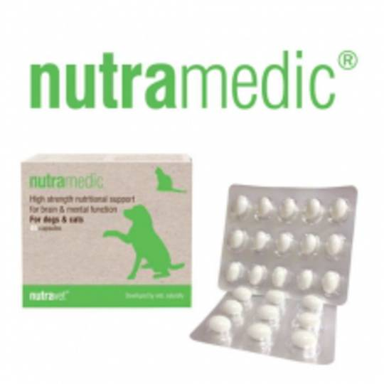 Nutramedic for Cats & Dogs Brain & Mental Function - 45 capsules