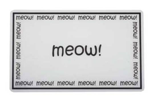 Feed Mats Meow Placemat