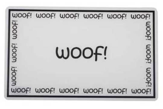 Feed Mats Woof Placemat