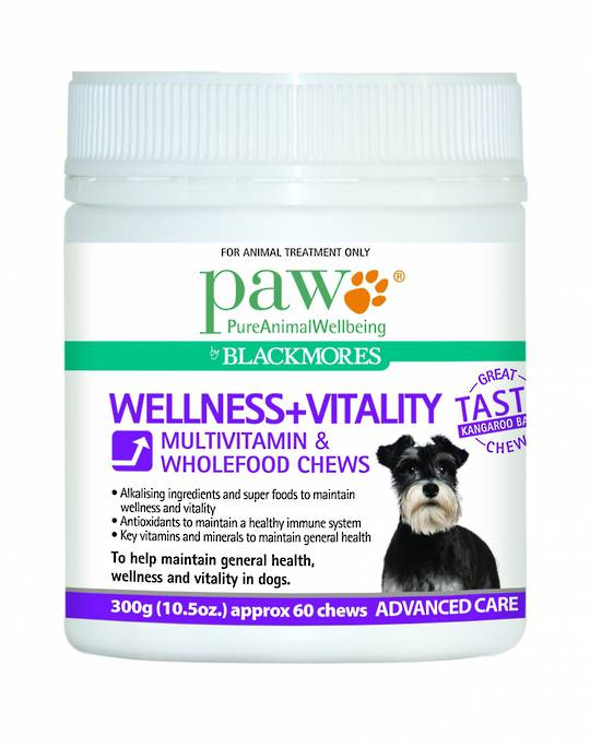 Multivitamin and Wholefood Chews 300g (60 chews)