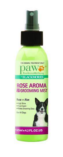 PAW Rose Aroma Grooming Mist 125ml