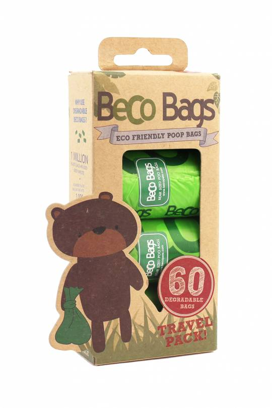 Beco Bags Travel Pack 60 / 4Rolls of 15