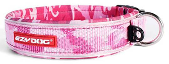 Ezydog Collar Neo Classic S Pink Camo 35-39cm