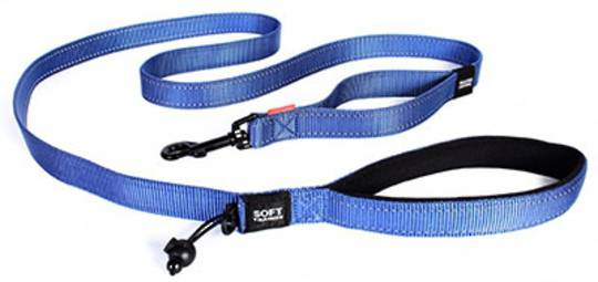 Ezydog Dog Leash Soft Trainer Lite 25mm / Blue