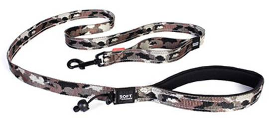 Ezydog Dog Leash Soft Trainer Lite 25mm / Camo