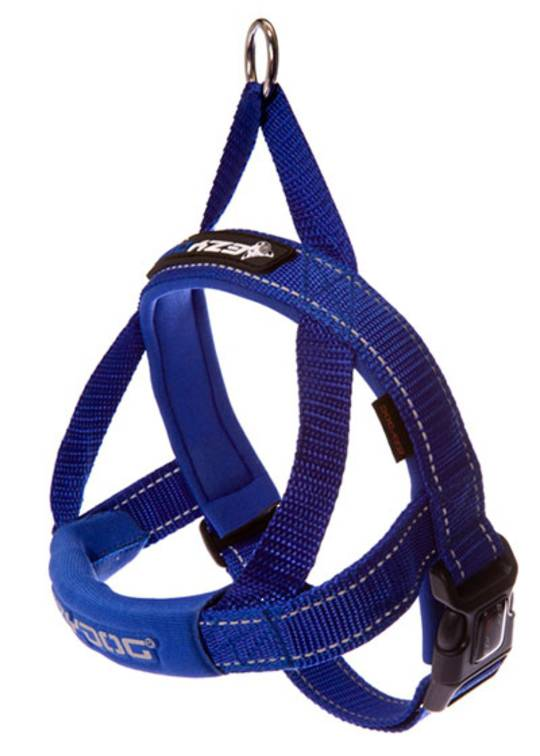 Ezydog Quick Fit Harness / Blue / XL