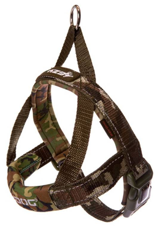 Ezydog Quick Fit Harness / Camo / XS