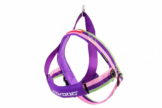 Ezydog Quick Fit Harness / Bubble Gum / S
