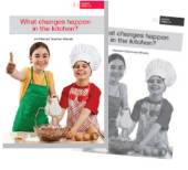 What changes happen in the kitchen?