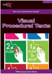 Visual procedural texts