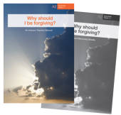 Why should I be forgiving?