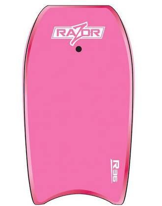 "O&E Zero Razor 42"" Bodyboard + leash"