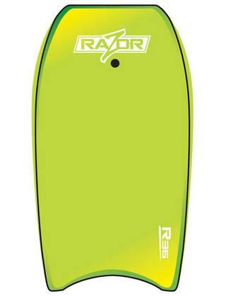 "O&E Zero Razor 39"" Bodyboard +leash"