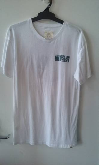 O'neill Logo T-shirt Medium White